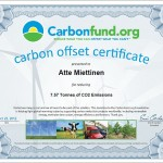 2012-10-22 Carbon Offset - Remainder